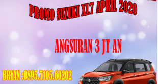 PROMO SUZUKI XL7 APRIL 2020 BRYAN