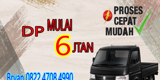 PROMO SUZUKI CARRY PICKUP OKTOBER 2020