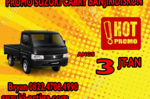 PROMO SUZUKI CARRY BANJIR